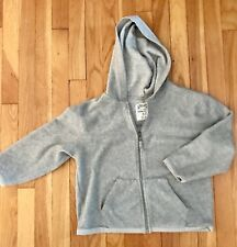 TCP The Childrens Place Gray Hoodie Jacket Size 5/6 Zipper