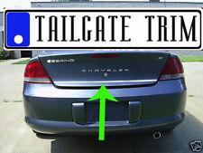 Chrysler SEBRING 2001 02 03 04 2005 2006 Chrome Tailgate Trunk Trim Molding