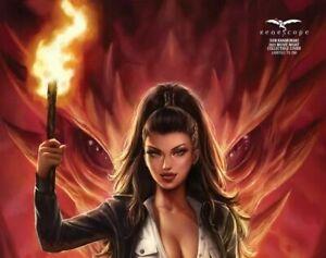 Van Helsing: Hellfire - *Z-VERSION* Khamunaki Movie Clube Cover #5 - LE 100