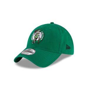 Boston Celtics New Era 9TWENTY NBA Green Adjustable Strapback Dad Cap Hat 920