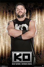 Rare KEVIN OWENS - KO WWE Wrestling Official Wall POSTER