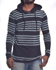 Element Men's Stripe Light Weight Hoodie Tee Shirt Size Small