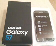 Samsung Galaxy S7 SM-G930U 32GB  Black Onyx - Factory Unlocked No carrier logo