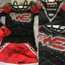 Woodlands Elite Allstars Real Cheerleading Uniform Youth Med