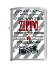 Zippo 200 Made In USA Guarantee The Original Full Size Lighter