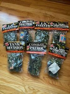 7 SEALED BAGS OF TimMee Tim Mee Plastic Army Men-Tanks-OVER 200 PIECES L@@K!!!