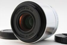 [EXC++] Sigma A Art 60mm F2.8 DN Silver for Micro Four Thirds from Japan #KS437