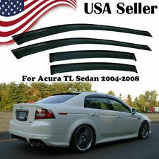 Rain Guard Vent Shade Deflector Window Visors For 2004-2008 2007 Acura TL Sedan