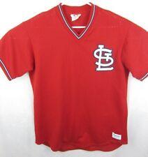 Vtg St Louis Cardinals Majestic Jersey Red Mesh Sz L/XL Baseball MLB