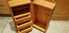 Large All Wood Closet /Trunk / Amoire / Case for Dolls
