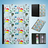 TRAFFIC ROAD RULES PATTERN FLIP PASSPORT WALLET ORGANIZER COVER HOLDER
