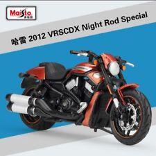1:18 Maisto Harley Davidson 2012 VRSCDX Night Rod Special Bike Motorcycle Red