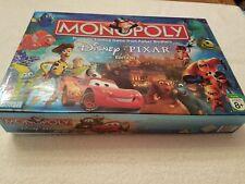 Monopoly Walt Disney Pixar Edition Board Game Parker Brothers Complete 2007