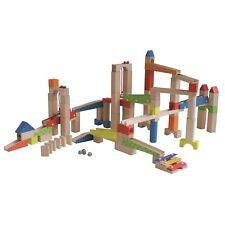 Roba Kids Kugelbahn Holzspielzeug Bauklötze 100-teilig   NEU