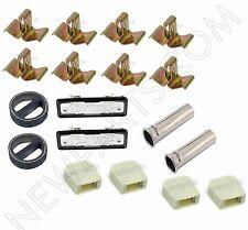 For BMW E10 E12 E21 E23 E24 E28 BAV Door Latch Buffers+Exhaust Tips
