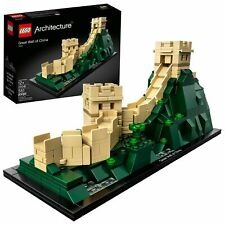 LEGO Architecture 21041 Great Wall of China 551 Pcs Skyline Model Building Kit