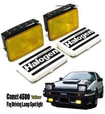 Universal Fit All Car SUV Fog Spot Light Lamp 4x4 Yellow Adjustable AE86 KE70