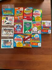 GIGANTIC SALE OF 292 OLD UNOPENED BASEBALL CARDS IN PACKS 1990 AND EARLIER