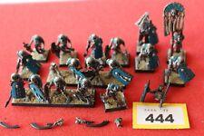 Juegos taller Warhammer Tomb Kings esqueleto guerreros 18 Modelos Regimiento Pintado