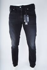 2016 NWT MENS DC WASHED STRAIGHT FIT JEANS $65 32 dark grey faded black pants