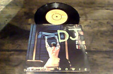 """DAVID BOWIE D.J. RCA VICTOR 1st UK PS 45 7"""" 1979 The Lodger Brian Eno"""