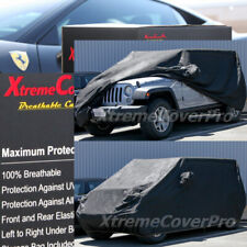 2016 2017 2018 2019 2020 JEEP COMPASS BREATHABLE CAR COVER W/MIRROR POCKET BLACK