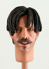 1:6 Custom Head of Michael Biehn as Johnny Ringo Version 1 From Tombstone