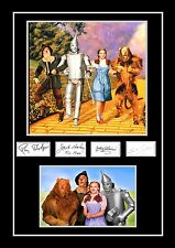 STUNNING QUALITY THE WIZARD OF OZ JUDY GARLAND SIGNED / AUTOGRAPHED PRINT