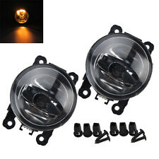 2x 55W Round Front Spot Fog Light Lamp Left Right With Free H11 Bulb Spare Part