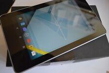 Nexus 7 (1st generación) 16GB, Wi-Fi, 7in-Negro en Caja De Grado A