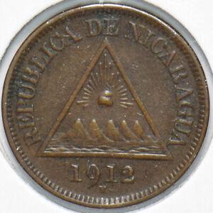 Nicaragua 1912 1/2 Centavo 293512 combine shipping