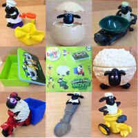 McDonalds Happy Meal Toy 2014 Shaun The Sheep Character Plastic Toys - Various