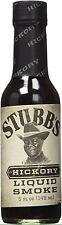 Stubb's Hickory Liquid Smoke BBQ Sauces 5 fl oz 148 ml Stubbs