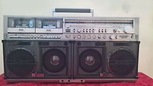Sharp GF-777 Stereo Boombox - Serial # 50163986 - with video on YouTube