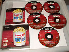GREATEST HITS FROM THE MOVIES - 5 CD - 82 TRACKS - READER'S DIGEST -2001