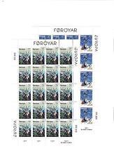 1997 MNH Europa sheets, Faeroer, Färöer, Faroer, Faroe Islands, postfris