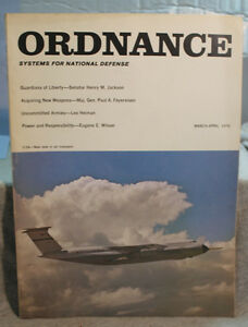 vtg old ORDNANCE military USN U.S army weapons magazine march - april 1970