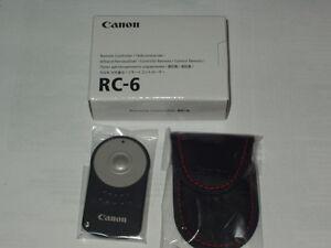 Original  CANON Fernauslöser RC-6  NEU  OVP EOS Remote Controller RC 6