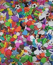 Mixed LOT Of 65 FUN Fabulous Foam Beads