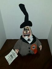 "The Mayor Mini Bean Bag Size 8"" Tall Tim Burton's Nightmare Before Christmas"