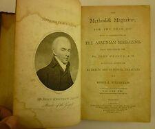1802 METHODIST MAGAZINE Extracts BIOGRAPHIES Religious MEMOIRS Arminian WESLEY