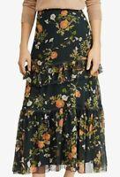 Lauren Ralph Lauren Floral Print Skirt Women's Maxi Spring Summer SIZE 10,12,14