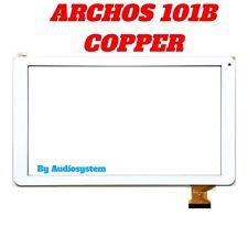 "VETRO+TOUCH SCREEN per ARCHOS 101B COPPER TABLET 10,1"" DIGITIZER DISPLAY BIANCO"