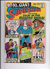 Superman #202 January 1967 80 page giant Bizarro World
