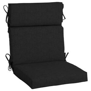 Dining Chair Cushion 21.5 in. W x 24 in. H x 20 in. D Tie Attachment Acrylic
