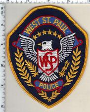 West St. Paul Police (Minnesota)  Shoulder Patch new 1991