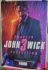 JOHN WICK Chapter 3 Parabellum HBO Movie Poster