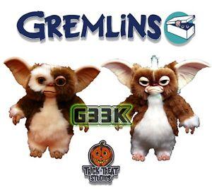 Gremlins Mogwai Puppet Replica Gizmo Stripe Trick or Treat Studios Prop UK New