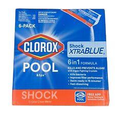 CLOROX Pool&Spa 33506CLX Pool Shock XtraBlue (6 1-lb Bags)