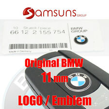Original bmw 11mm auto smart clave emblema logotipo e81 e82 e83 e87 e60 e61 e64
